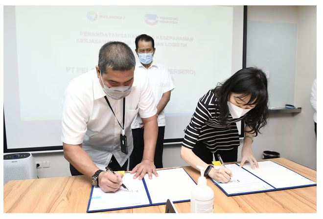 Encouraging Performance, Pelindo 1 Intensify Collaboration and Synergy lintassumut.